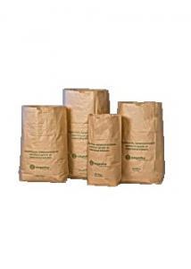 Papperssäck 2-blads 125L (fp om 50 st)