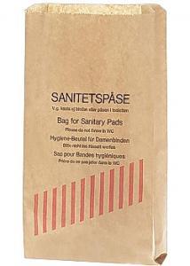 Sanitetspåse papper (fp om 1000 påsar)