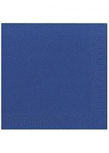 Duni Servett 3-lags 40x40cm mörkblå (fp om 125 st)