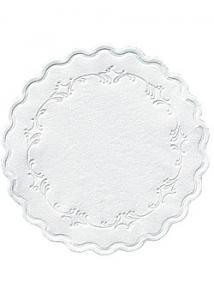 Koppunderlägg 9cm vit (fp om 500 st)