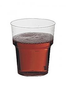 Plastglas hårda 24cl (fp om 25 st)