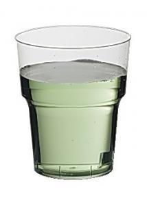 Plastglas hårda 38cl (fp om 25 st)