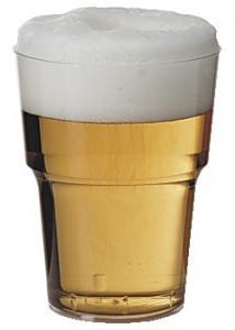 Plastglas hårda 50cl (fp om 25 st)