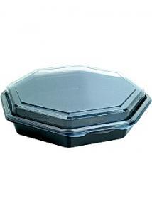 Duni Plastskål Octaview 230x230x50mm (fp om 190 st)