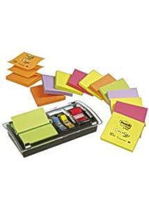 Post-it® Notes Z-block+hållare Plexi