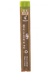 Pilot Begreen Reservstift 0,5mm HB (tub 12 st)