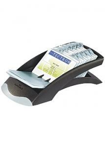 Durable Visitkortslåda Visifix Desk svart