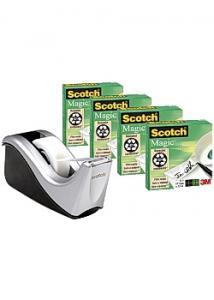 Scotch® Tejphållare C60-ST4 svart/silver