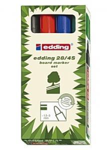 Edding Whiteboardpenna 28 (fp om 4 st)