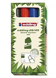 Edding Whiteboardpenna 29 (set om 4 st)