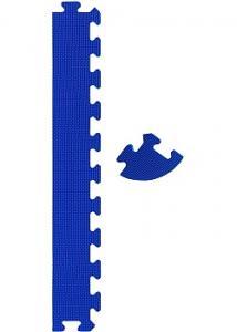 Pusselmatta kantset blå (fp om 12 st)