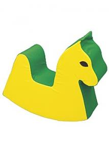 Gunghäst gul/grön