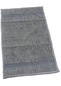 Frottehandduk grå 30x50cm