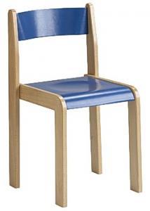 Barnstol Kulör sitthöjd 38cm blå