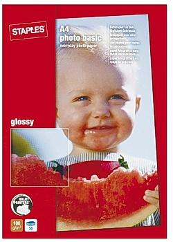 Fotopapper Basic A4 glossy (fp om 50 blad)