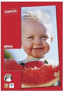 Fotopapper Bas 10x15 gloss (fp om 50 blad)