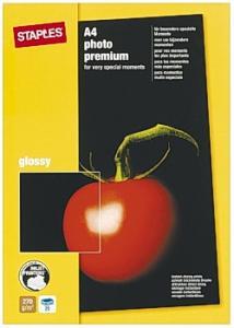 Fotopapper Prem+ A4 glossy (fp om 25 blad)
