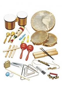 Rytmsats 25 instrument (fp om 25 set)