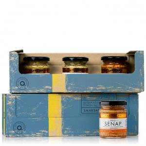Andersson 3-pack senap med smaker