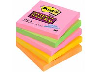 Notes POST-IT SuperSticky 76x76mm neon