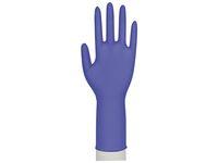 ABENA Handske nitril lång Ac.fri blå M (fp om 100 st)