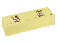 Post-it® Notes Super Sticky 76x76mm gul (block om 90 blad)
