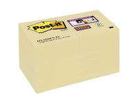 Post-it® Super Sticky 51x51mm gul (fp om 24 st)