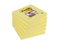 Notes POST-IT Super Sticky 76X76 gul