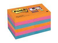 Post-it® Super Sticky Bangkok51x51mm (fp om 12 block)