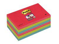 Post-it® SuperSticky Bora Bora 76x127mm (fp om 6 block)