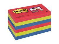 Post-it® Super Sticky BoraBora51x51mm (fp om 12 block)