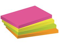 Notes 76x127mm neon