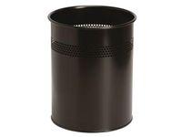 Papperskorg TWINCO 15L svart