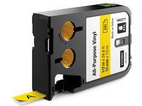 Dymo Tape XL 12 mm Gul 7m 1868771