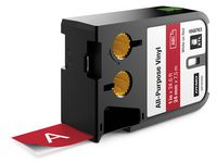 Dymo Tape XL 24 mm Röd 7m 1868763