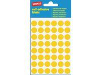 Etikett 12mm gul 240/FP