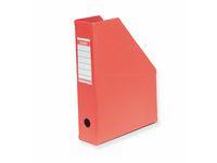 Tidskriftssamlare BANTEX A4 röd