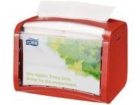 Dispenser TORK XPRESSNAP S N4 röd