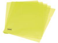 Aktmapp A4 0.12 gul 100/FP
