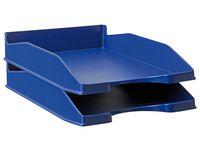 Brevkorg A4 blå