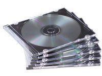 CD/DVD-Fodral  FELLOWES Slim 10/FP