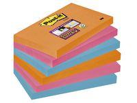 Post-it® Super Sticky Bangkok 76x127mm (fp om 6 block)