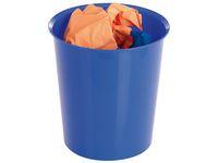 Papperskorg  16 L blå