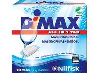 Nilfisk Maskindisk DIMAX Tabletter 70 /fp (fp om 70 st)
