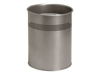 Papperskorg TWINCO 15L silver