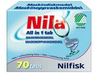 NILA Maskindisk NILA All in 1 tab. 70/fp (fp om 70 st)