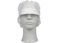 ABENA Hårskydd med skärm vit L (fp om 100 st)