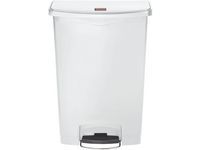Rubbermaid Commercial Products Avfallskärl SLIM JIM vit 90L