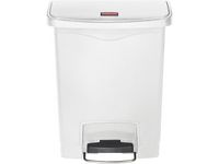 Rubbermaid Commercial Products Avfallskärl SLIM JIM vit 30L