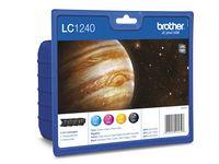 Bläckpatron BROTHER LC1240BK/C/M/Y